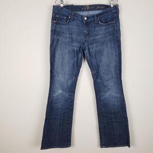 7 FOM Flip Flop Distressed Jeans Size 30
